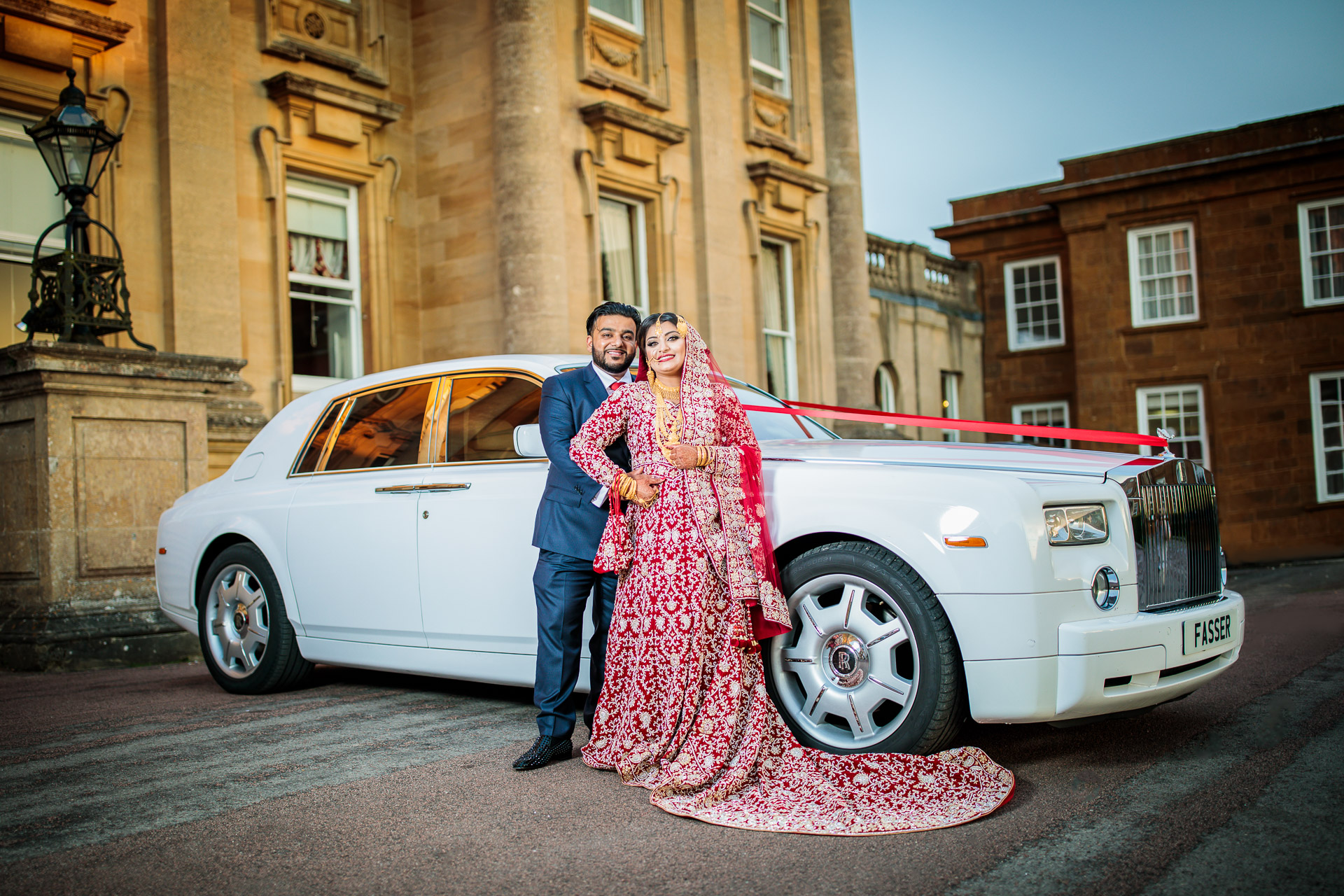 Wedding in Crowne Plaza Heythrop Park, Oxford