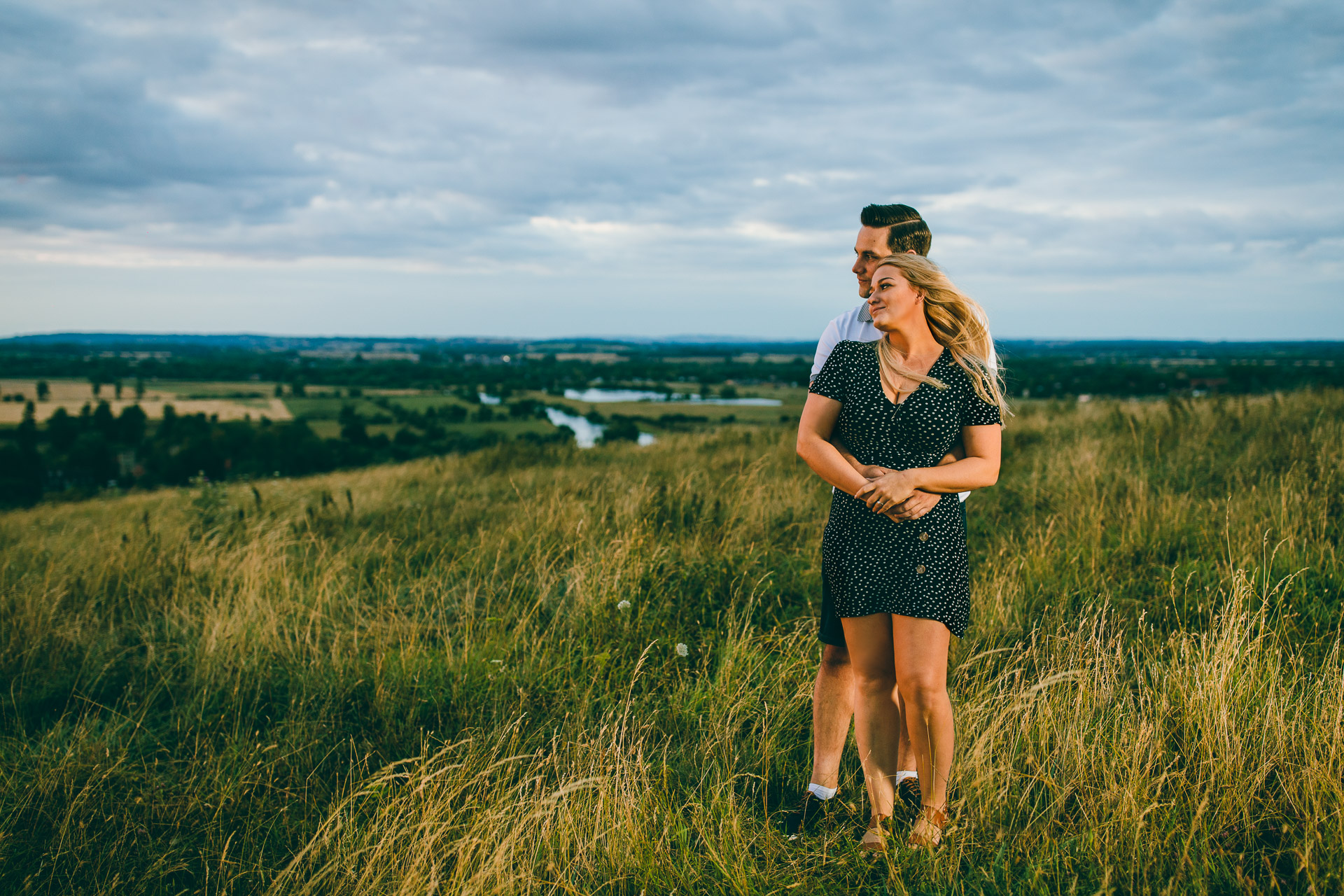PreWedding Session at the Wittenham Clumps