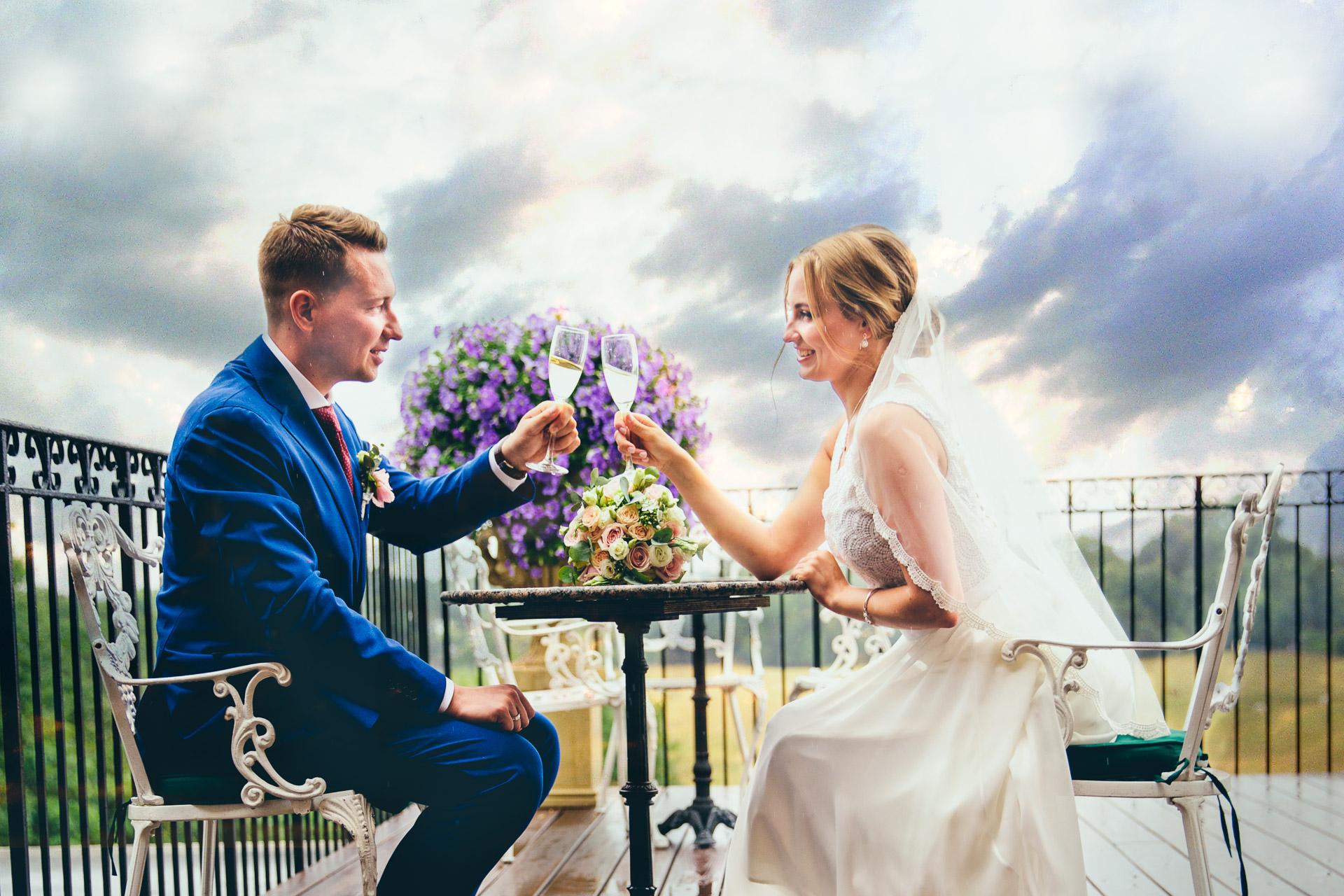 Wedding Reception in The Petersham Hotel, Richmond