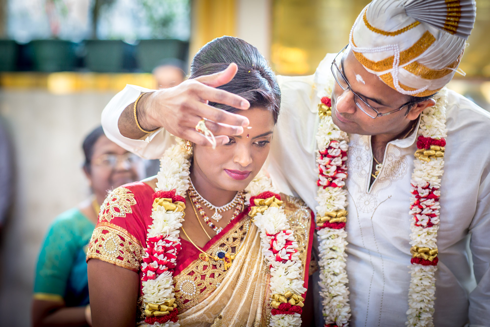 Wedding in Shri Kanaga Thurkkai Amman Temple, London