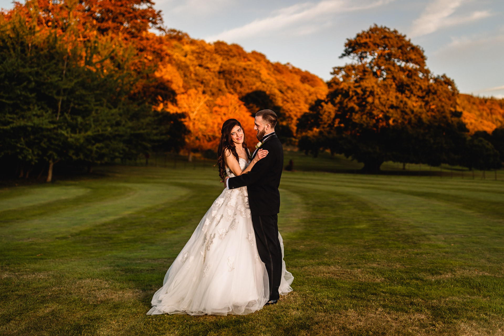 Wedding in St Audries Park Wedding Venue, Taunton
